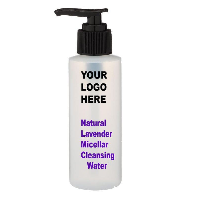Natural Lavender Micellar Cleansing Water - Facial Wash- Top Trends - Private Label - Medidermlab