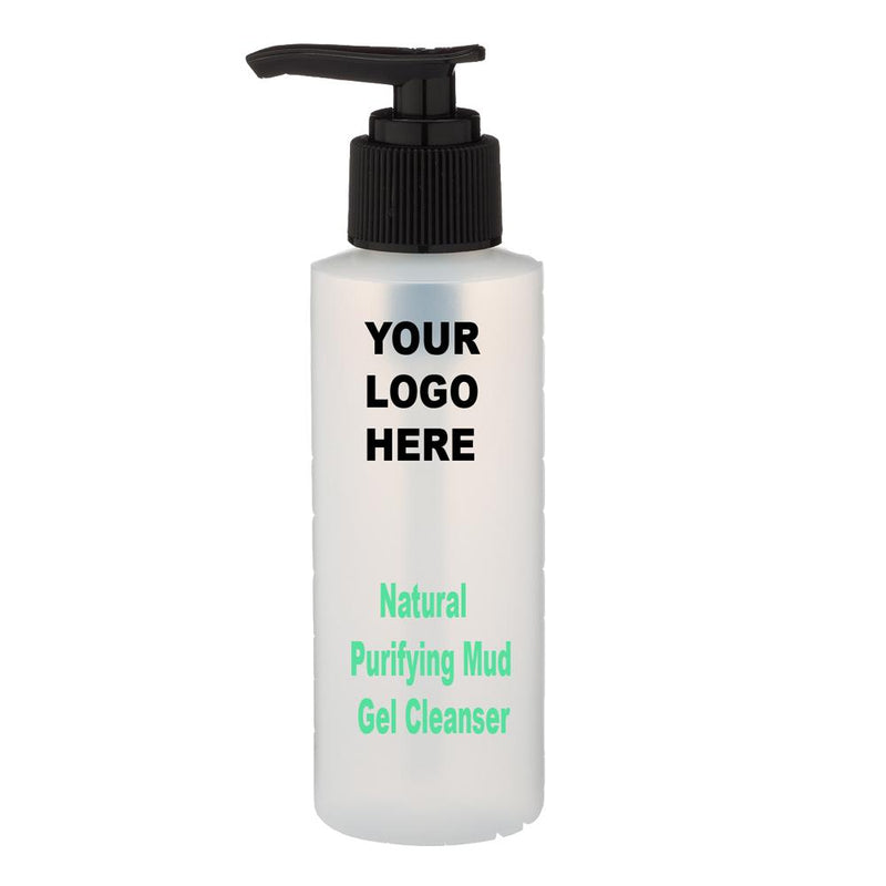 Natural Purifying Mud Gel Cleanser - Private Label - Medidermlab