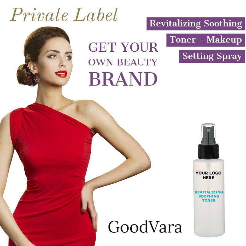 GoodVara Revitalizing Soothing Toner - Makeup Setting Spray