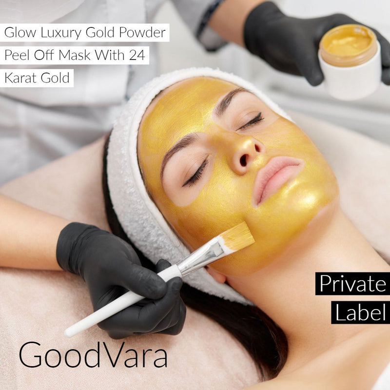 GoodVara Skin Wrap Masks: Get That Glow Luxury Gold Powder Peel Off Mask With 24 Karat Gold