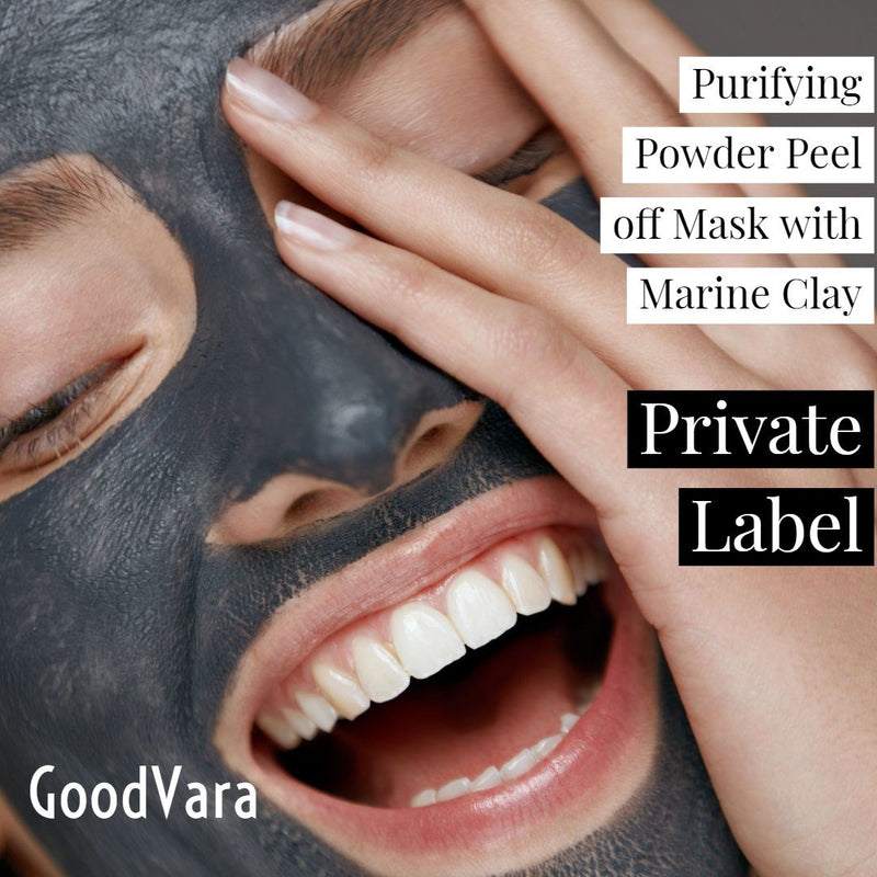 GoodVara Purifying Powder Peel off Mask with Marine Clay