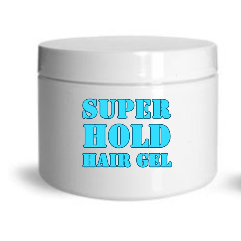 Super Hold Styling Hair Gel - Men - Women Hair Styling- Private Label