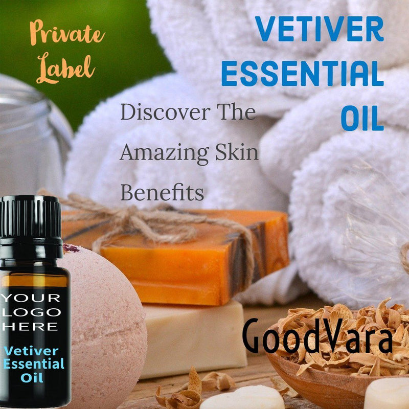 GoodVara Vetiver Essential Oil (Vetiveria Zizanoides)
