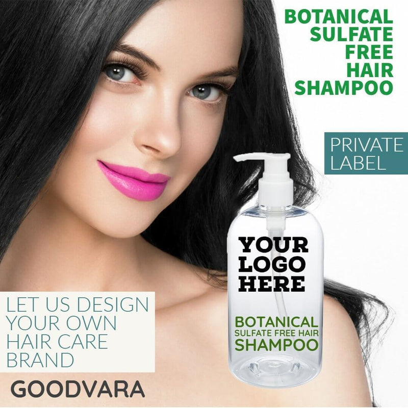 Botanical Sulfate Free Hair Shampoo - For All Hair Types
