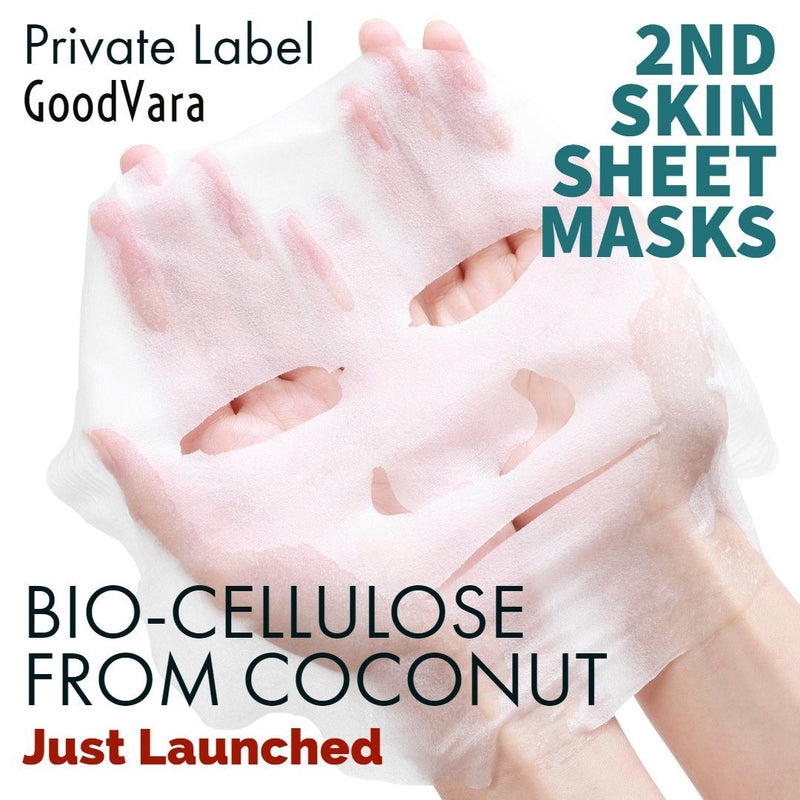 2nd Skin Face Sheet Bio-Cellulose Masks