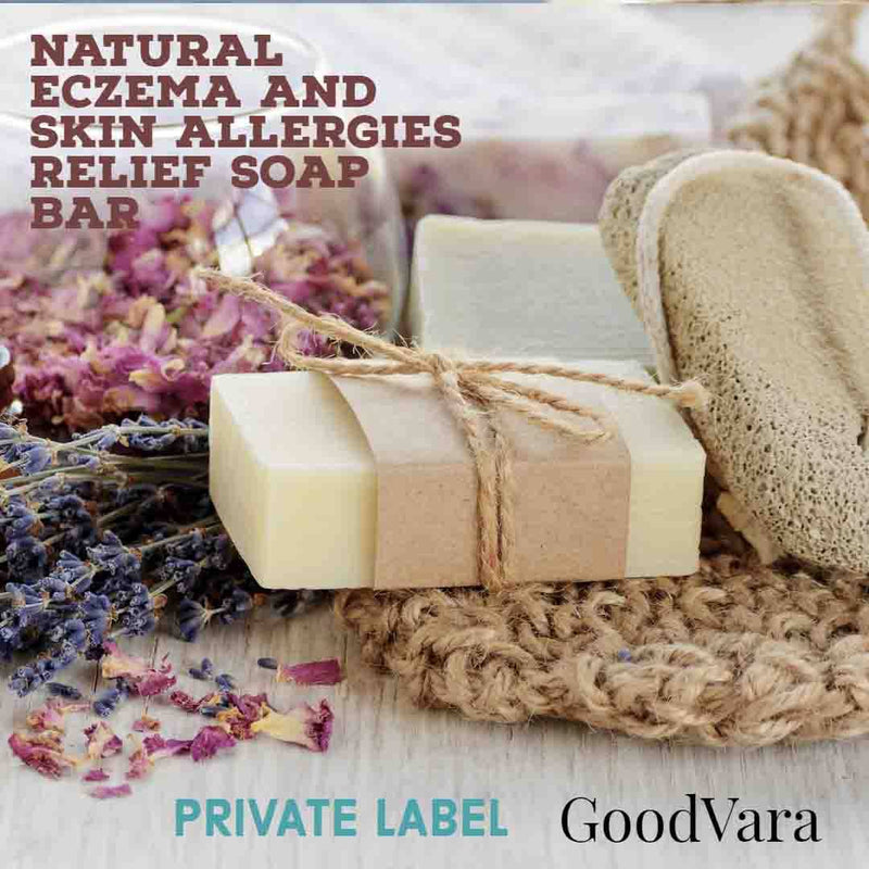 Natural Eczema And Skin Allergies Relief Soap Bar