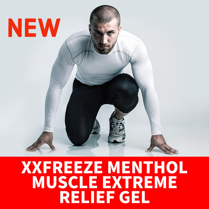 XXFREEZE MENTHOL MUSCLE EXTREME RELIEF GEL