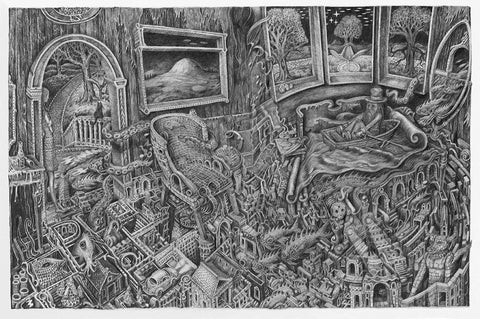 The Maze - Pencil Giclee Edition