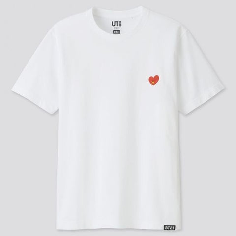BT21 UT Official -  Tata T-Shirt - KPOPSTORENZ