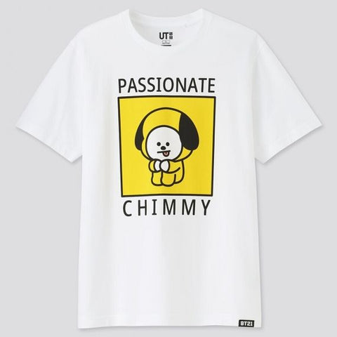 BT21 UT Official -  Chimmy T-Shirt - KPOPSTORENZ
