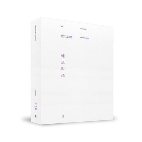BTS MEMORIES OF 2017 DVD + PHOTOBOOK ALBUM - KPOPSTORENZ