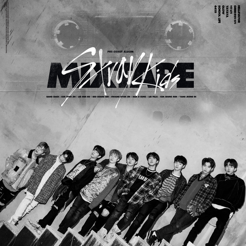Stray Kids Pre-debut Album - Mixtape - KPOPSTORENZ