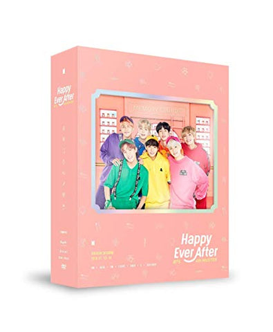 BTS - 4th MUSTER [Happy Ever After] DVD Album - KPOPSTORENZ