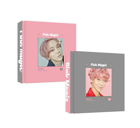Yesung (Super Junior) - Vol.3 Mini Album Pink Magic - KPOPSTORENZ