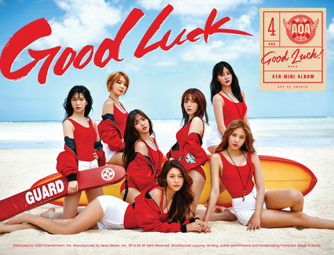 AOA Mini Album Vol. 4 - Good Luck *SIGNED LIMITED EDITION* - KPOPSTORENZ