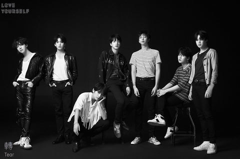BTS BANGTAN BOYS LOVE YOURSELF TEAR POSTERS - KPOPSTORENZ