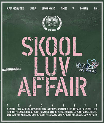 BTS Bangtan Boys Mini Album Vol. 2 - Skool Luv Affair - KPOPSTORENZ