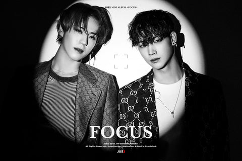 JUS2 Vol. 1 Mini Album  - FOCUS - KPOPSTORENZ