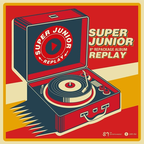 Super Junior Vol. 8 Album Repackage - Replay - KPOPSTORENZ