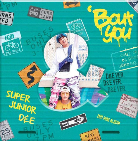Super Junior D&E - Mini Album Vol. 2 'Bout You' - KPOPSTORENZ