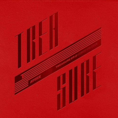 ATEEZ Vol. 2 Mini Album - TREASURE EP.2 : ZERO TO ONE - KPOPSTORENZ