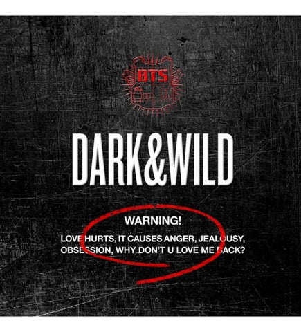 BTS Vol. 1 - Dark & Wild Album - KPOPSTORENZ