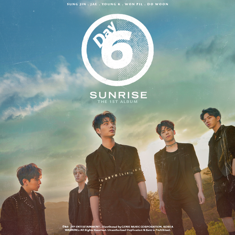 DAY6 Vol. 1 - SUNRISE Album - KPOPSTORENZ