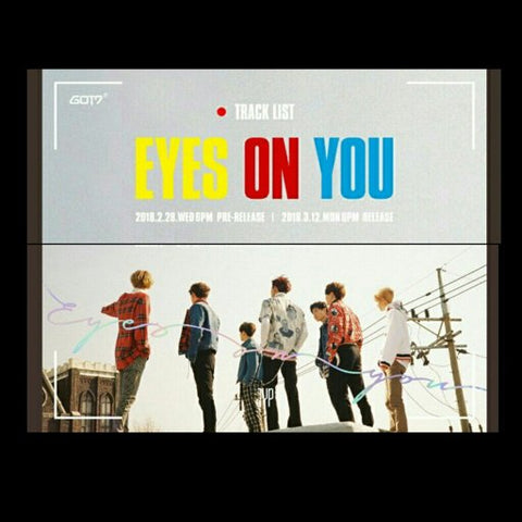 GOT7 - EYES ON YOU ALBUM - KPOPSTORENZ