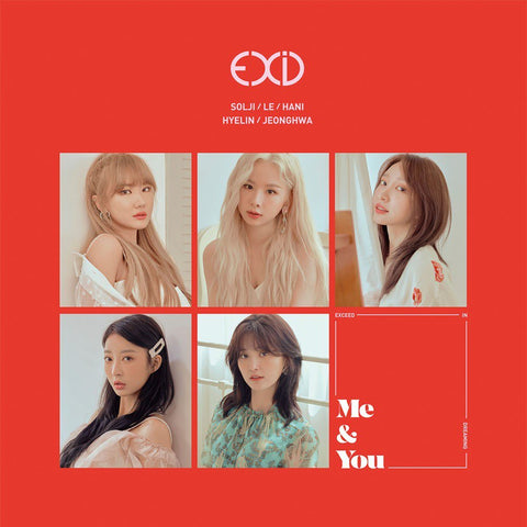 EXID Vol. 5 Mini Album - WE - KPOPSTORENZ