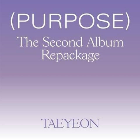 Taeyeon - [Purpose] Vol.2 Album Repackage - KPOPSTORENZ