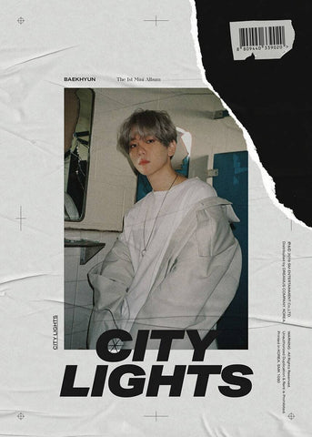 Baek Hyun (Exo) - Vol.1 Mini Album [City Lights] - KPOPSTORENZ