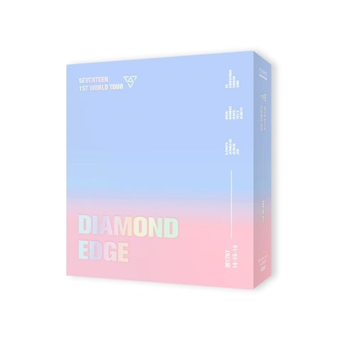 2017 SEVENTEEN 1ST WORLD TOUR (DIAMOND EDGE IN SEOUL) CONCERT DVD 3 DISC ALBUM - KPOPSTORENZ