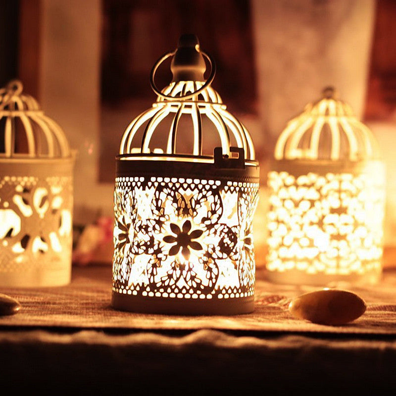 Decorative Moroccan Lantern Candle Holder