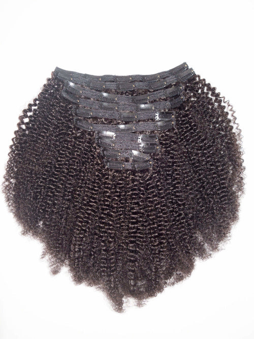 Afro Kinky Clip Ins - 4C