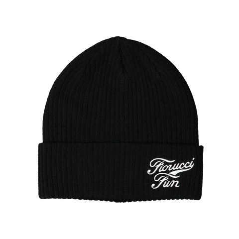 FUN X Fiorucci Logo Embroidery Beanie - Fun Socks