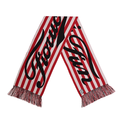FUN X Fiorucci Stripe Scarf - Fun Socks