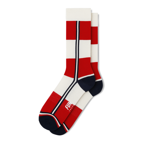 Men's Candy Stripe Socks - Fun Socks