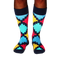 Men's Geo Check Socks - Fun Socks
