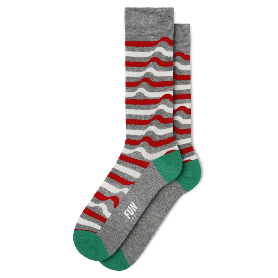 Men's Ribbon Stripe Socks