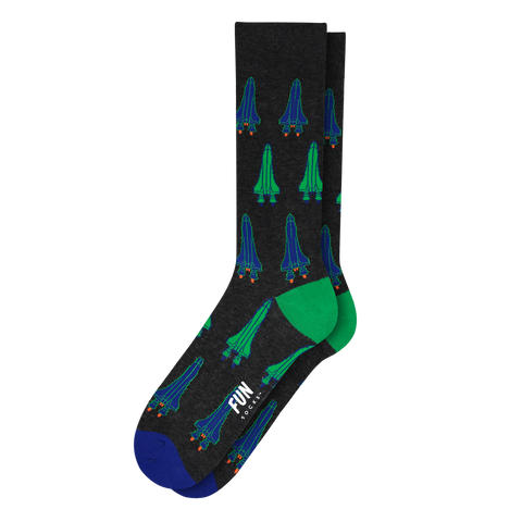 Men's Rocket Socks - Fun Socks
