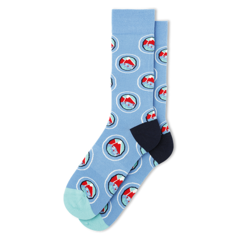 Men's Slope Socks - Fun Socks