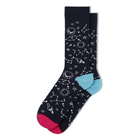 Men's Space Socks - Fun Socks