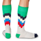 Men's Step Stripe Socks - Fun Socks