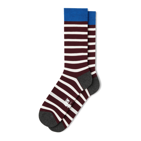 Men's Stripe Dress Socks - Fun Socks