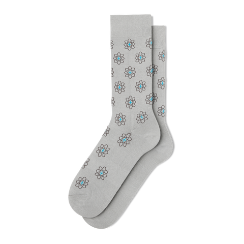 Men's Science Guy Dress Socks - Fun Socks