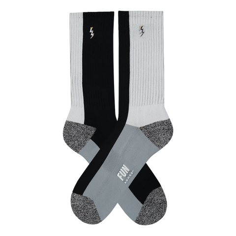 Men's Block Athletic Socks - Fun Socks