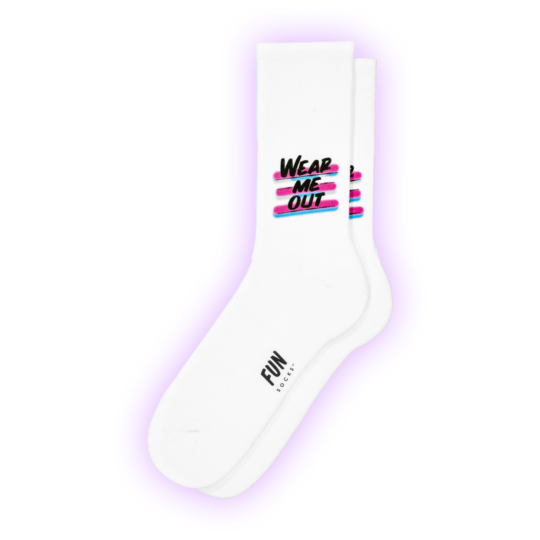 "BVF X FUN ""Wear Me Out"" Socks - Fun Socks"