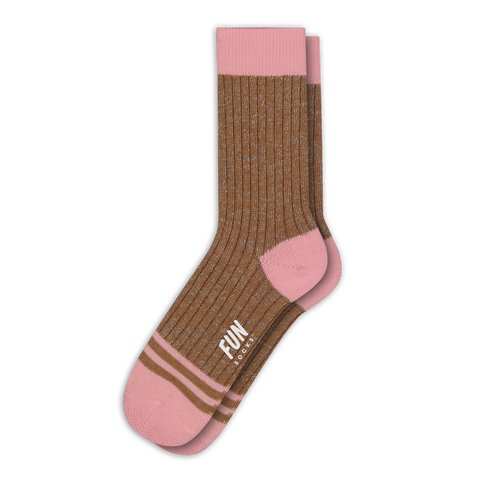 Women's Solidified Socks - Fun Socks