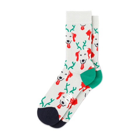 Women's Holiday Dog Socks - Fun Socks