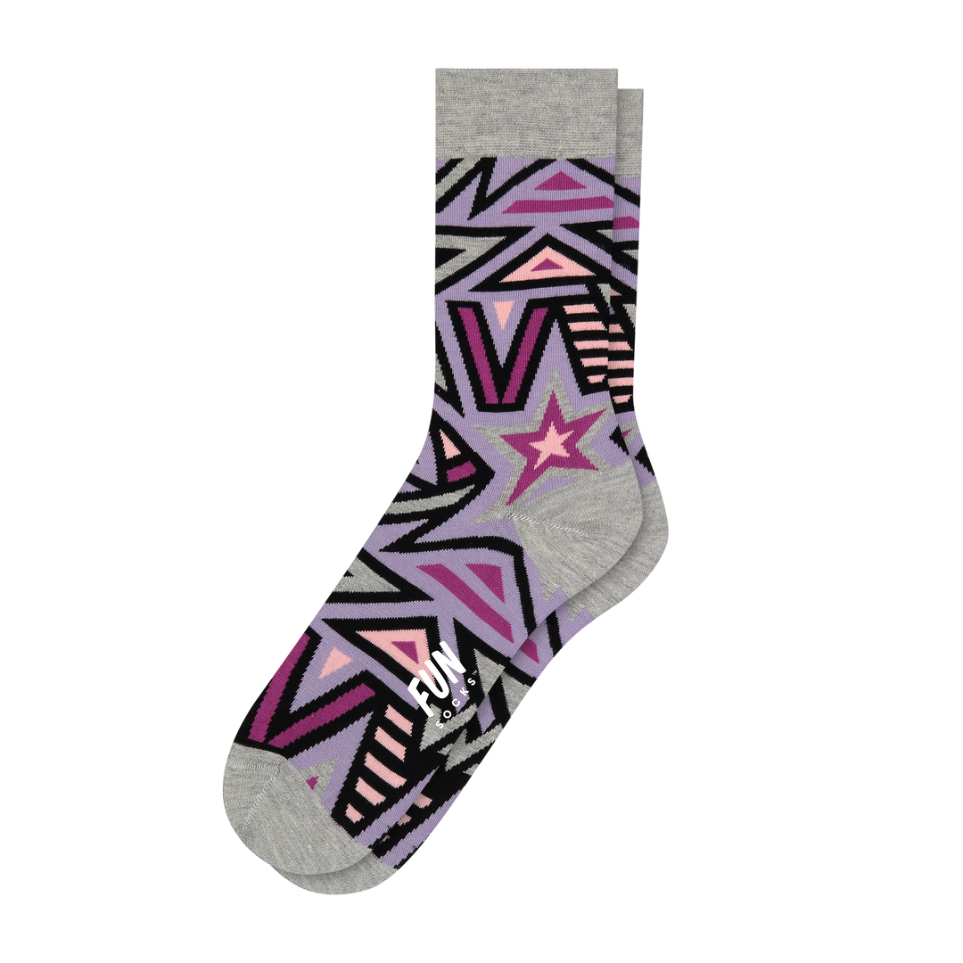 Women's Star Socks - Fun Socks